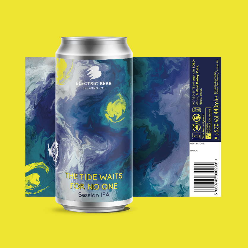 Who controls the weather apple and damson sour beer brand image