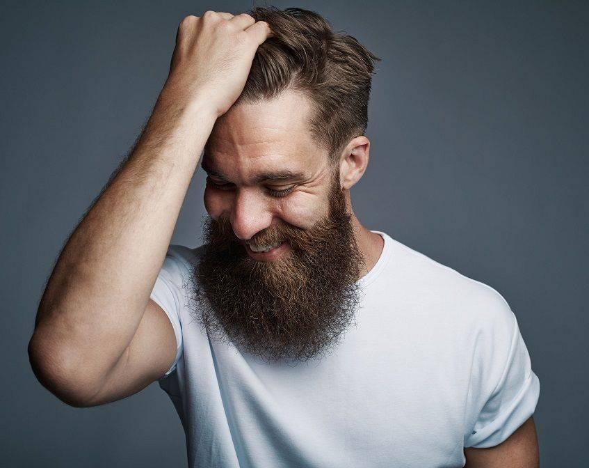 Happy Man With Beard