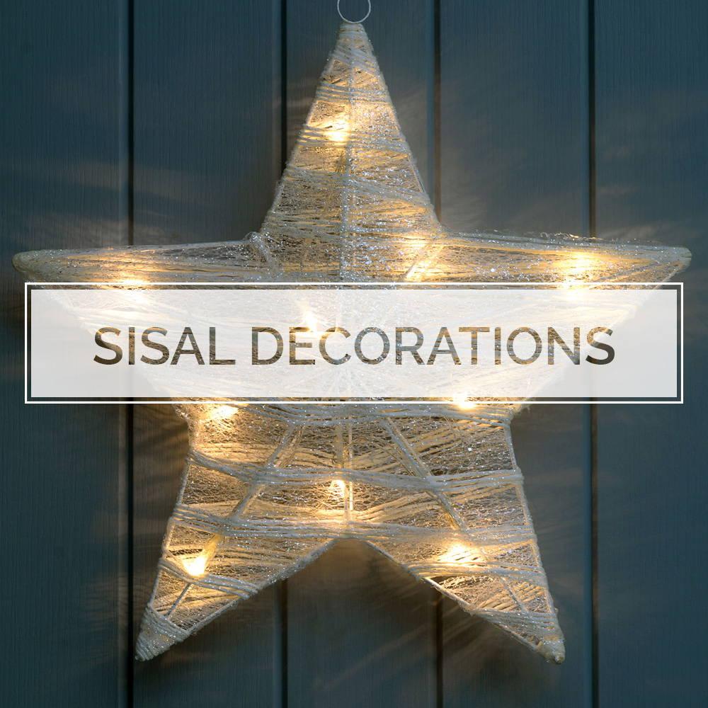 Sisal Decorations