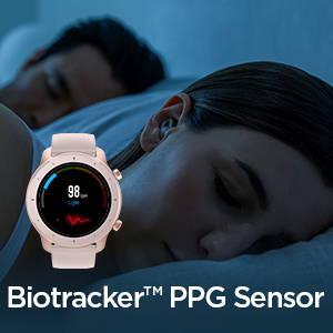 Amazfit GTR 42mm - Sensor PPG y motor de datos basado en AI Realbeats