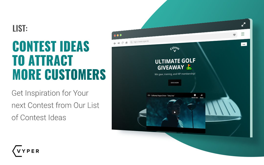 Contest Ideas To Attract More Customers