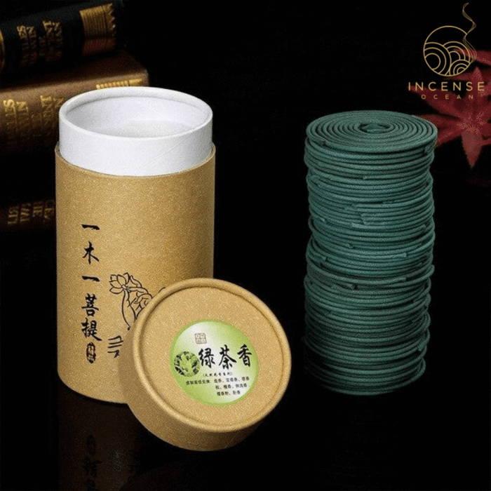 Natural Sandalwood Incense Coils (96 box)