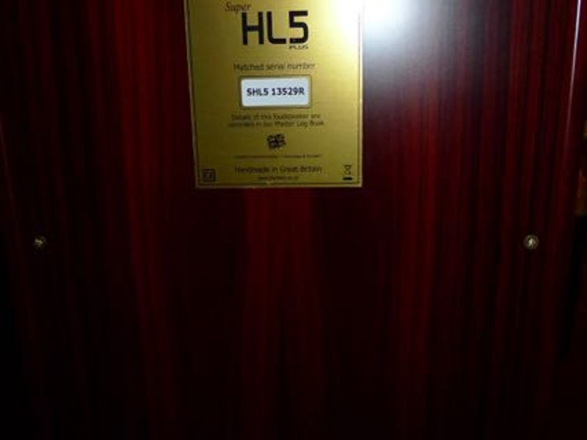 Harbeth Super HL5+ SLH5+ Plus Rosewood, NEW!