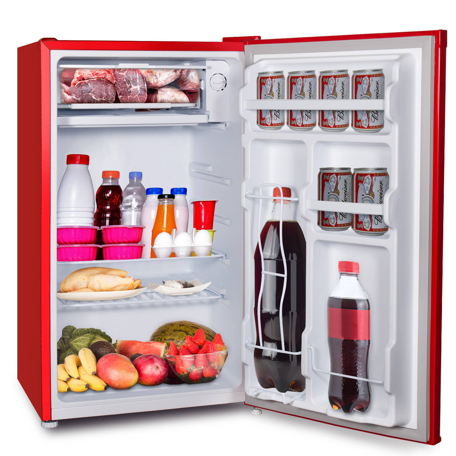 Aposen one door and large capacity refrigerator