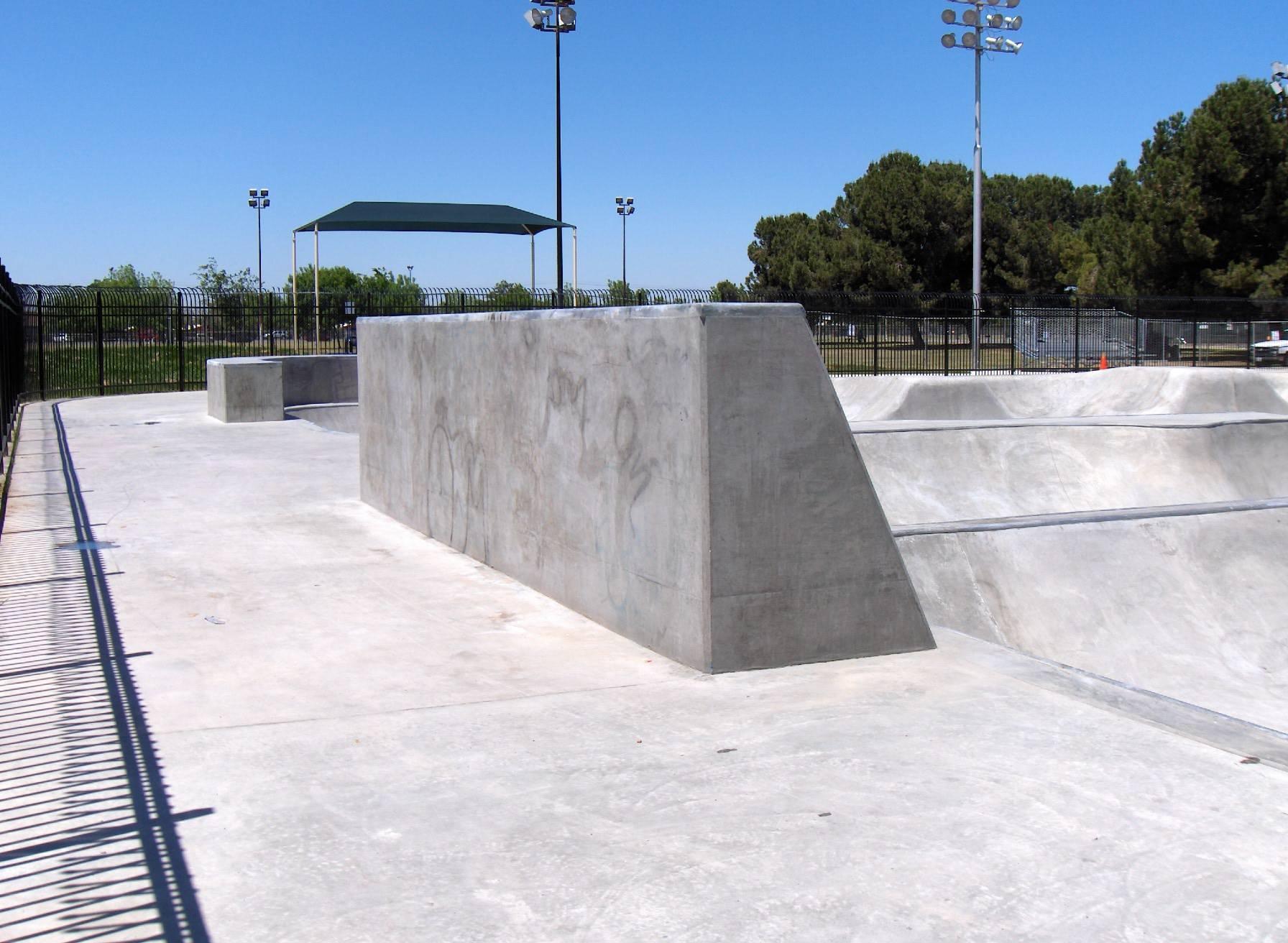 clean skatepark