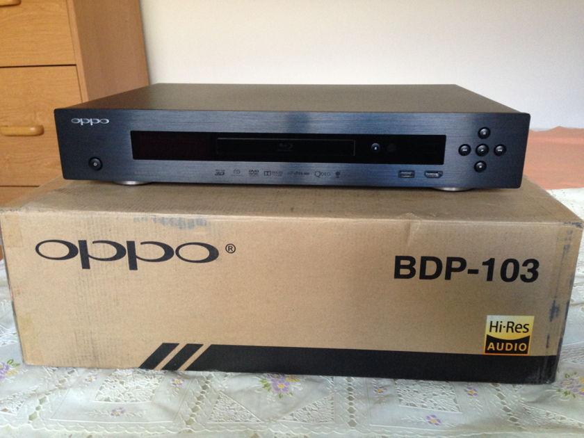Oppo Digital BDP-103 DVD/Blueray Player