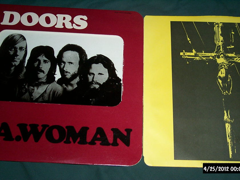 The doors - La Woman first pressing 1971 elektra LP vinyl