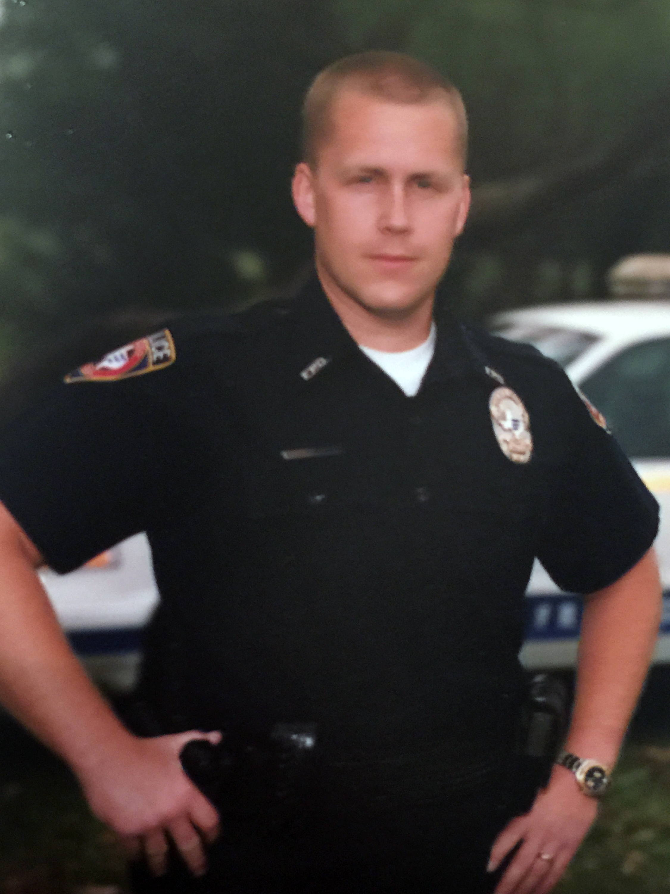 police officer ron lyons back in the early 2000s