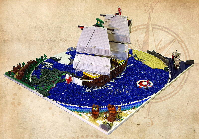 Lego Mayflower