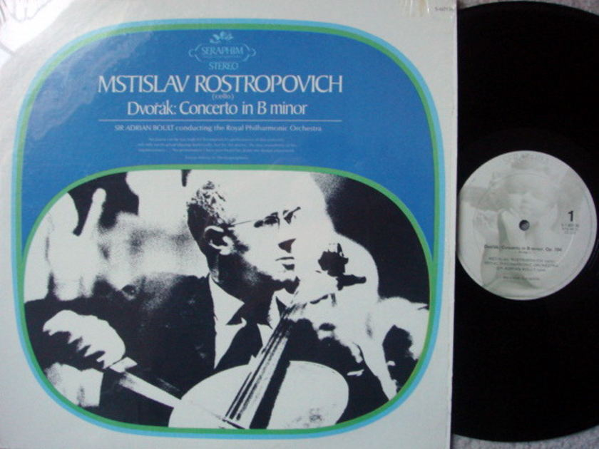 EMI Angel Seraphim / ROSTROPOVICH, - Dvorak Cello Concerto, NM!