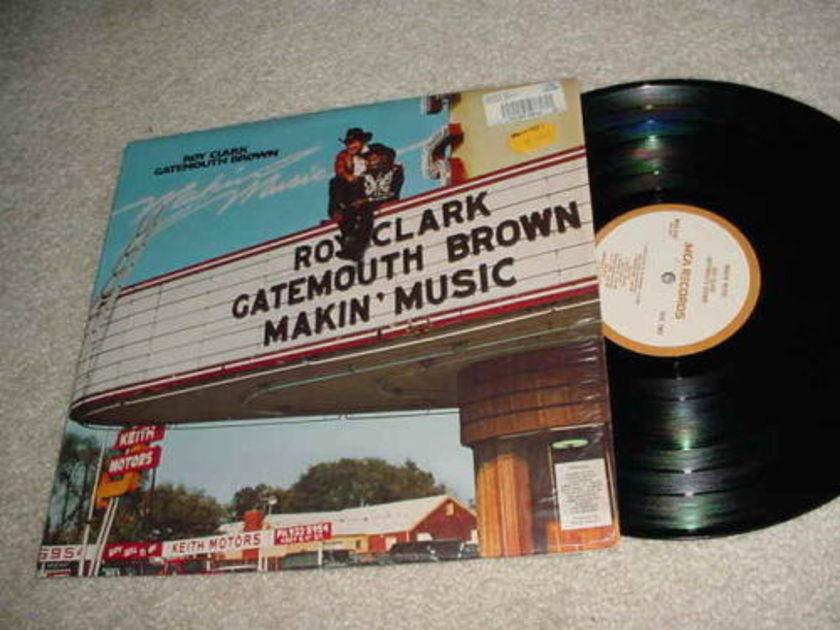 ROY CLARK GATEMOUTH BROWN -  LP RECORD  MAKIN MUSIC