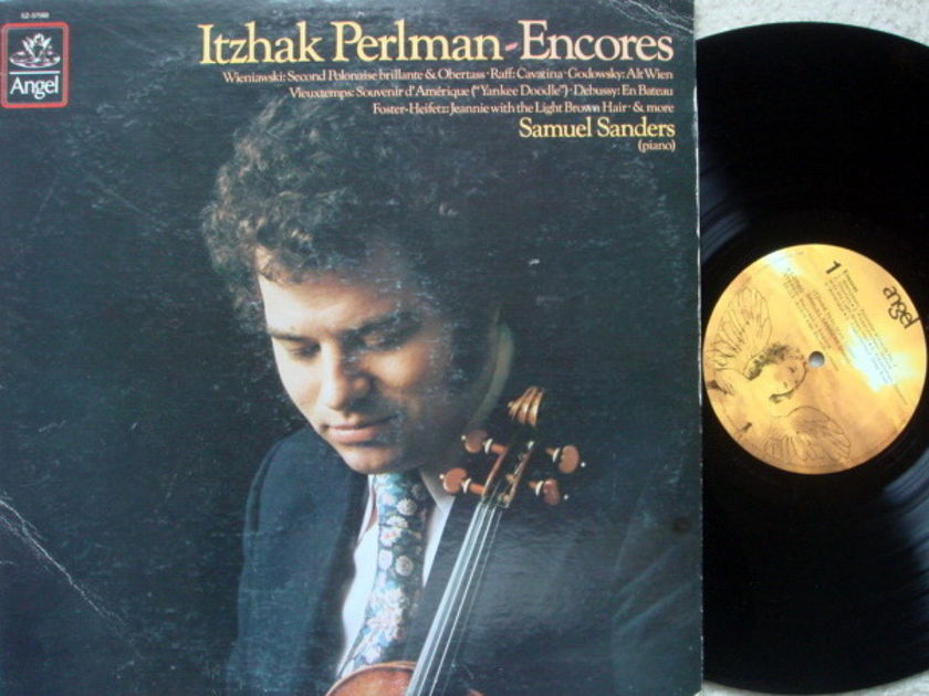 EMI Angel / PERLMAN-SANDERS, - Itzhak Perlman-Encores, MINT!