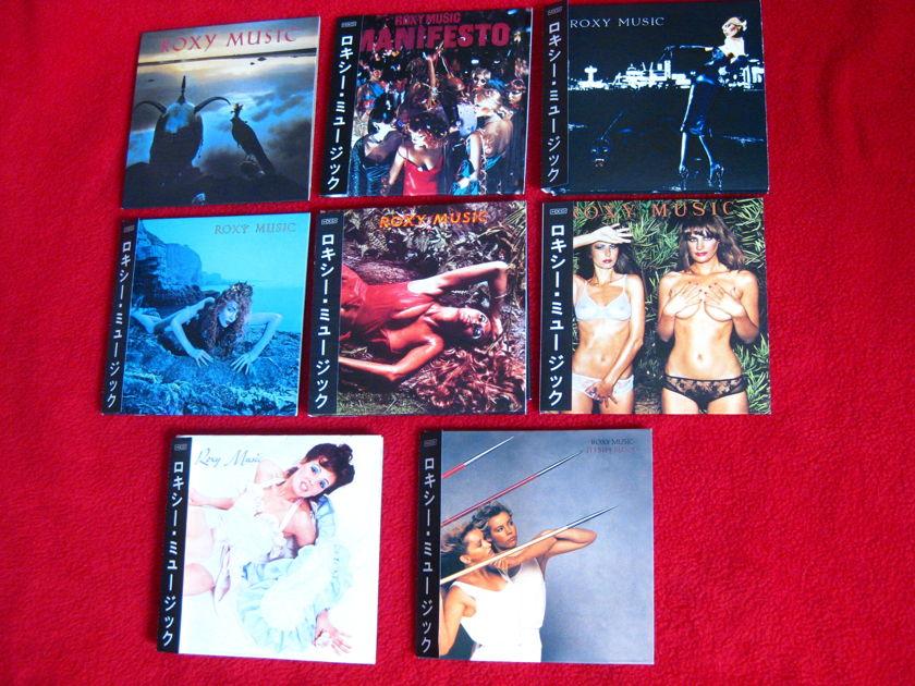 Roxy Music - S/T,For Your Pleasure/Stranded C.Life/Siren/Mfsto/FB/Av.
