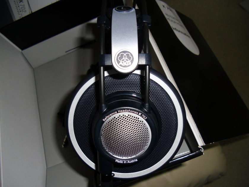 AKG 702 headphones in like new condition