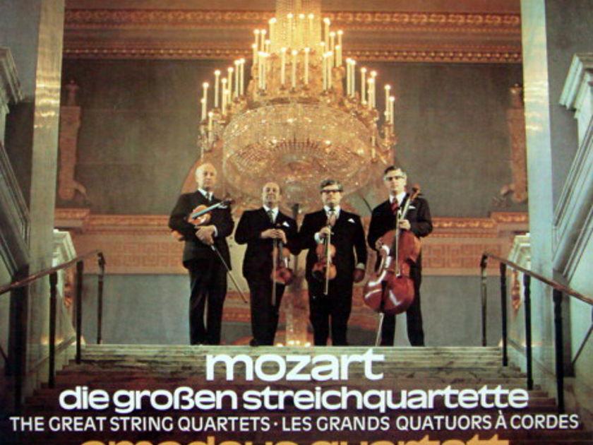 DG / AMADEUS QUARTET, - Mozart The Great String Quartets, MINT, 4LP Box Set!