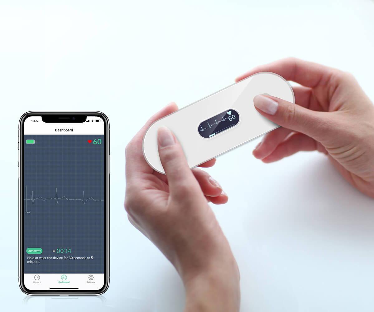 Wellue Portable EKG Monitor with OLED Screen, buy Wellue Portable EKG Monitor