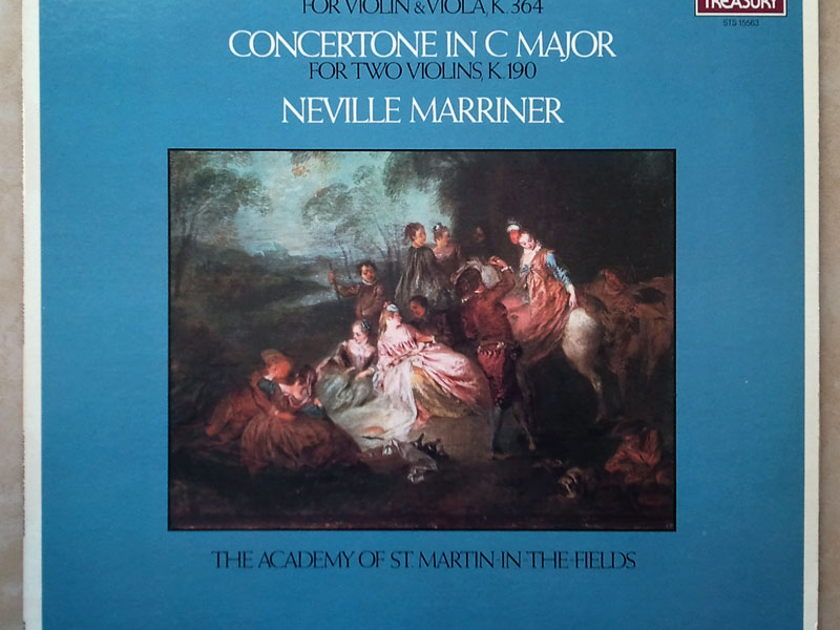 London ffrr | MARRINER/MOZART - Sinfonia Concertante KV.364, Concertone KV.190 / NM