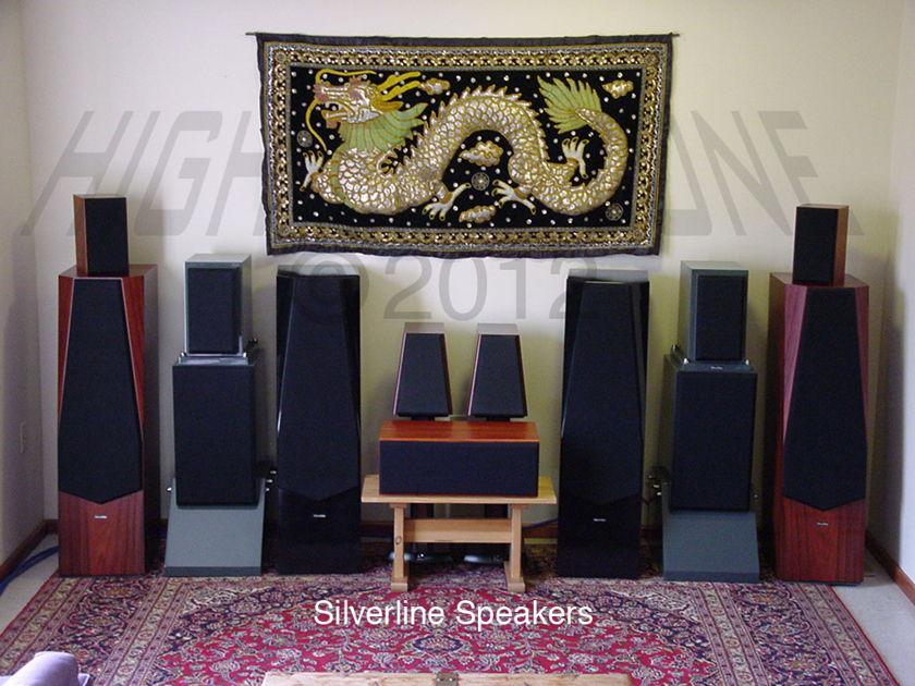$1,000 Silverline SR12 Rosewood Speakers