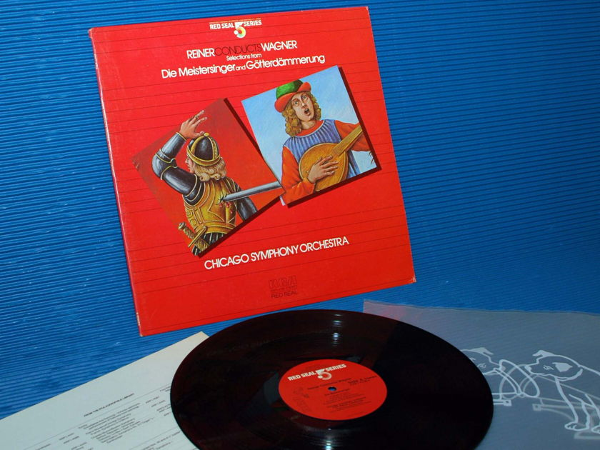 """WAGNER/Reiner -  - """"Reiner Conducts Wagner"""" -  RCA .5 Series Audiophile 1984"""