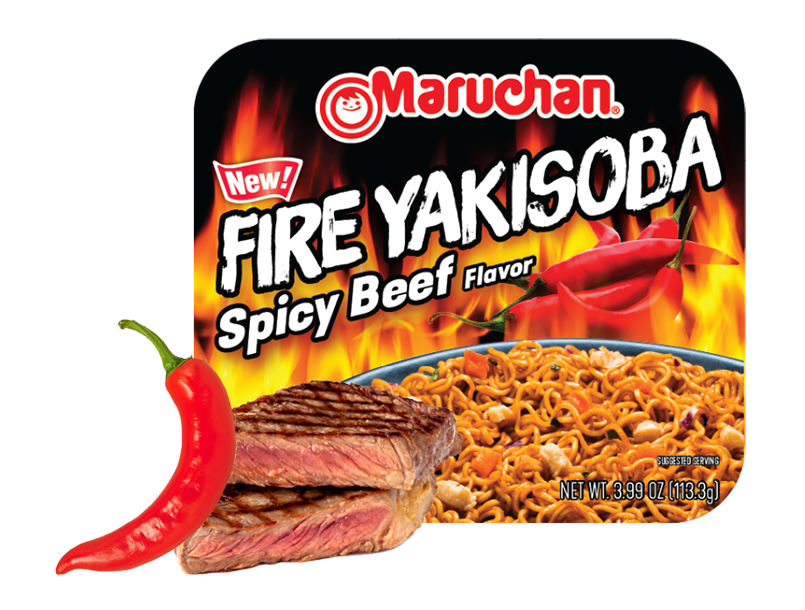 Fire Spicy Beef Flavor