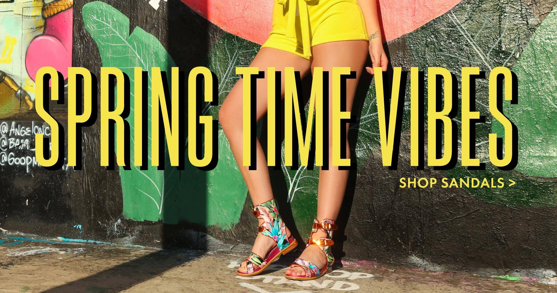 Spring Time Vibes   Shop Sandals
