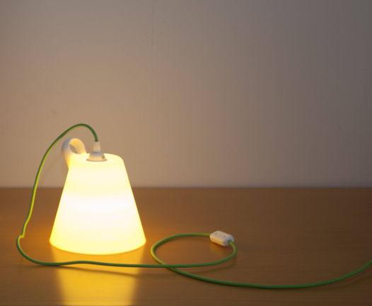 Лампа из экологически чистого полимера