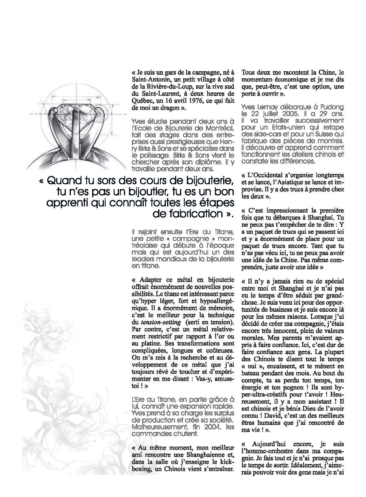 Yves Lemay Media Publication