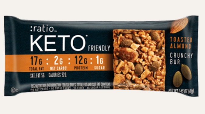 Ratio Keto-Friendly Bar