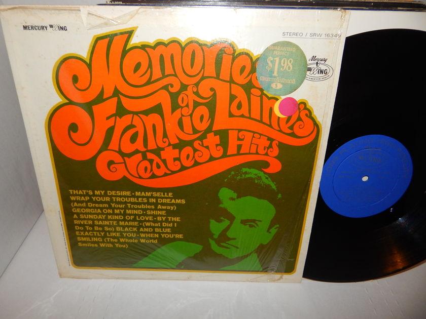 FRANKIE LAINE Memories Greatest Hits - Mercury Wing DG SRW 16349 Shrink Clean LP