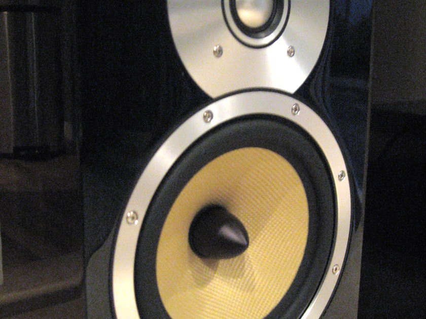 Bowers and Wilkins CM5 pair Gloss Black