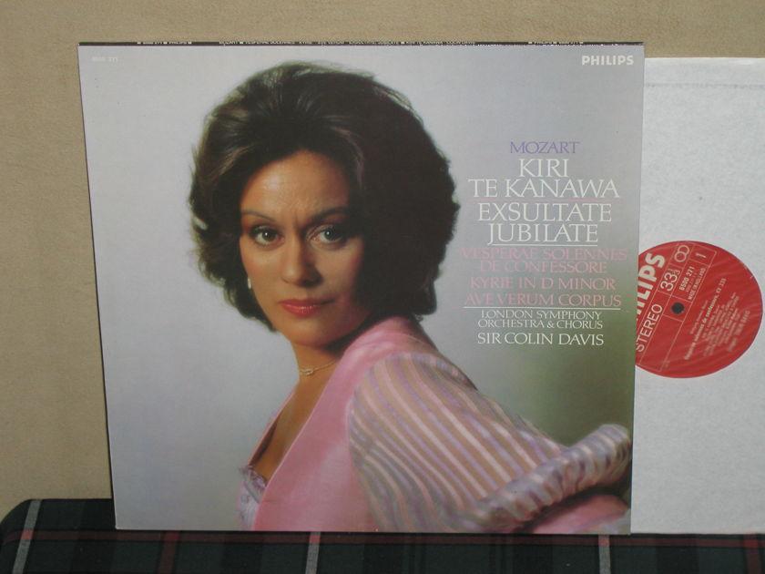 Te Kanawa/Davis/LSO&C - Mozart Exsultate Jubilate Analog Philips 6500 271