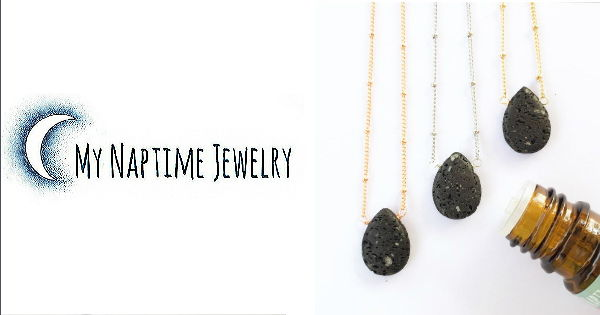 Handcrafted Essential Oil Diffuser Jewelry made with genuine volcanic lava stones, so you can keep your essential oils close, wherever life takes you!
