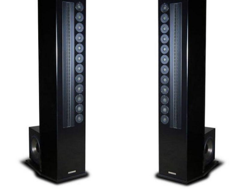 Genesis Technologies G2 JR Acrylic  Loudspeakers New in Factory sealed crates