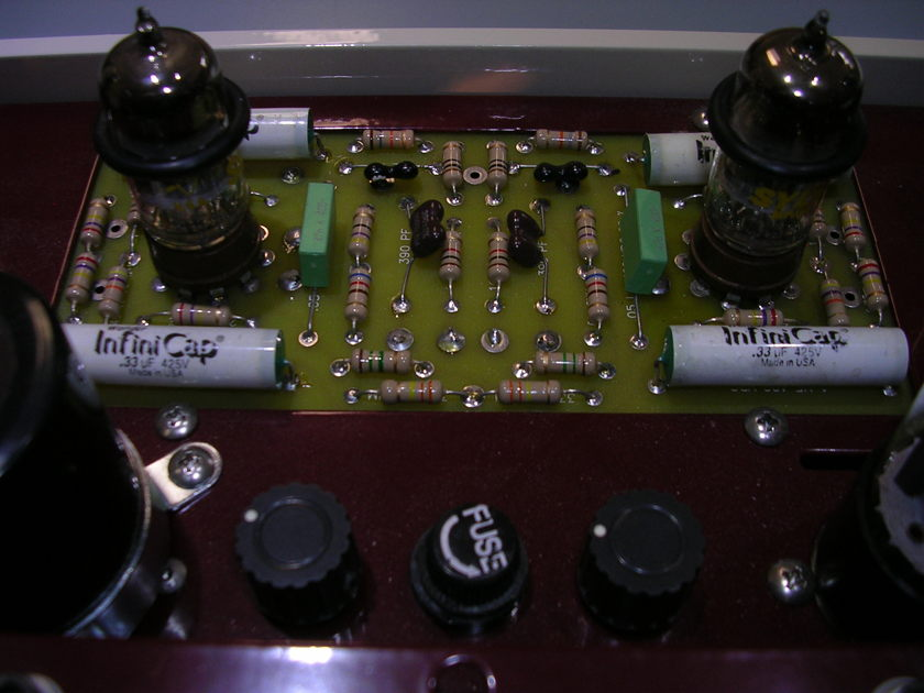 DYNACO BY WILL VINCENT.... CUSTOM TUBE AMPLIFIER....ITS YOUR TURN FOR ONE ....LAY-A-WAY PLAN