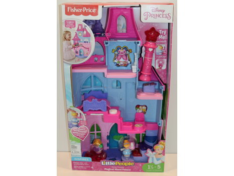 Fisher-Price Little People Disney Princess Magical Wand Palace