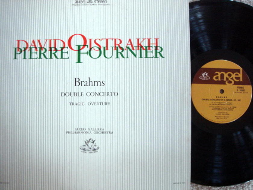 EMI Angel / FOURNIER/OISTRAKH, - Brahms Double Concerto, MINT!