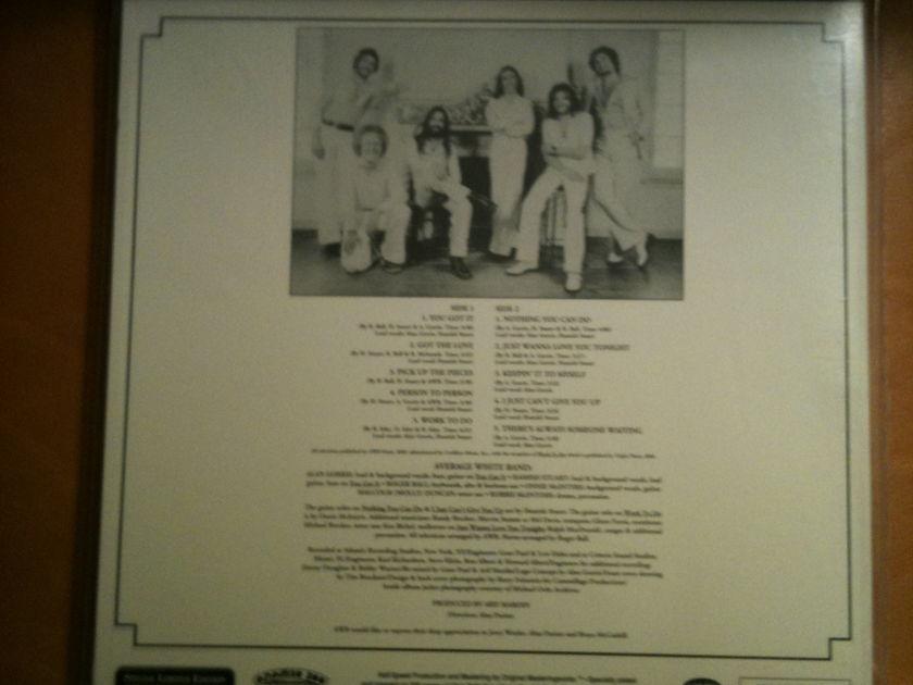 Mfsl Average White - Band - Sealed, LP brand new, pressing no. 4800