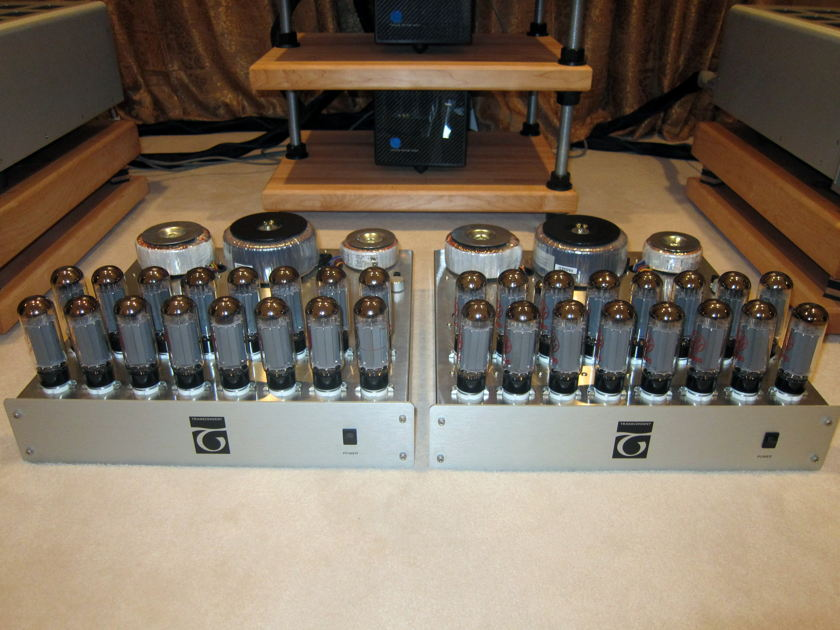Transcendent Sound Beast 160W OTL Monoblocks