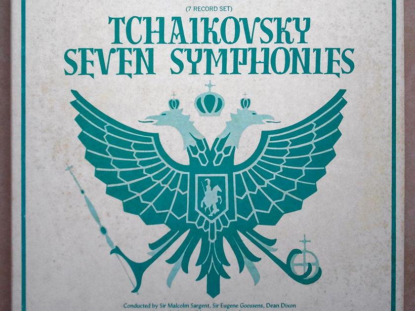 YORKSHIRE RECORDS | TCHAIKOVSKY - Seven Symphonies / 7-LP / NM