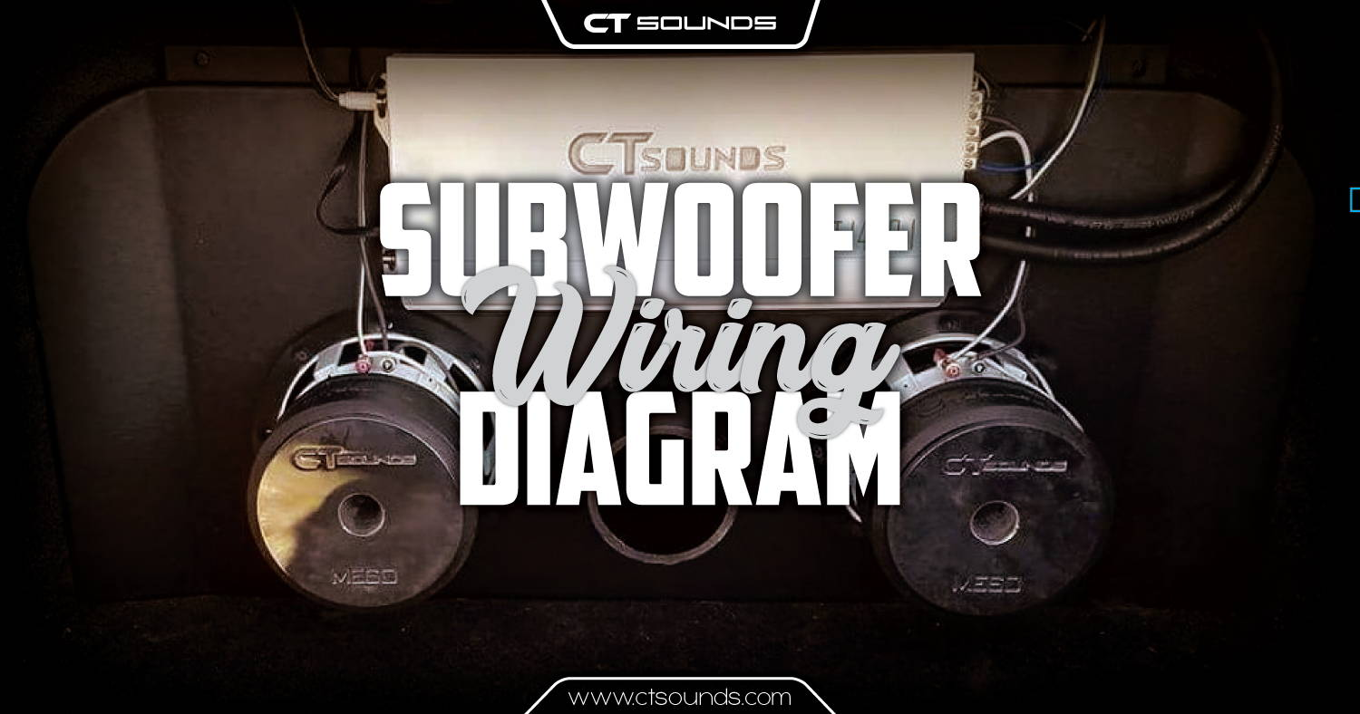 Wiring Diagram For Subwoofers Ct Sounds Subwoofer Calculator And Sub Wire Diagrams