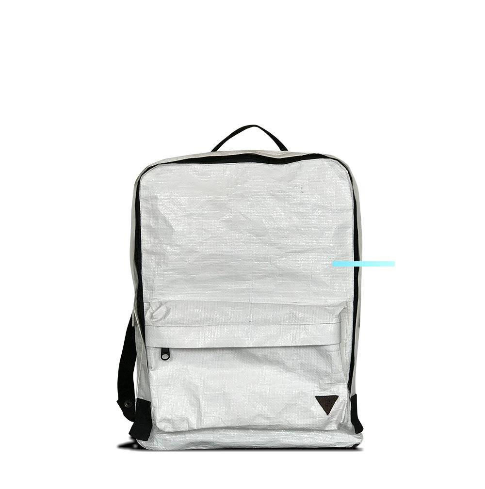 Recycled Tarp Water Proof Laptop Bag