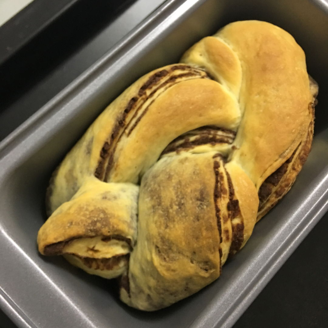 March 26th, 20 - Braided red bean toast