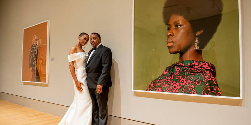 Intimate, Elegant Museum Wedding
