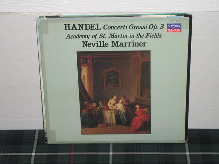 Marriner/AoStMitF - Handel Concerti Gros London Treasury 411 715