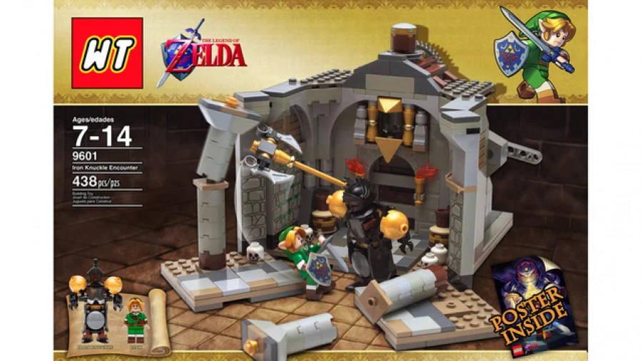 The Legend of Zelda LEGO Set