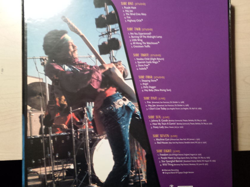Jimi Hendrix - Voodoo Child - The Jimi Hendrix Collection  Classic Records - 200g Quiex SV-P  - New and Sealed!