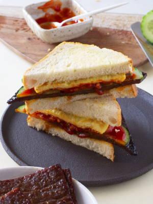 Bak Kwa Sandwich
