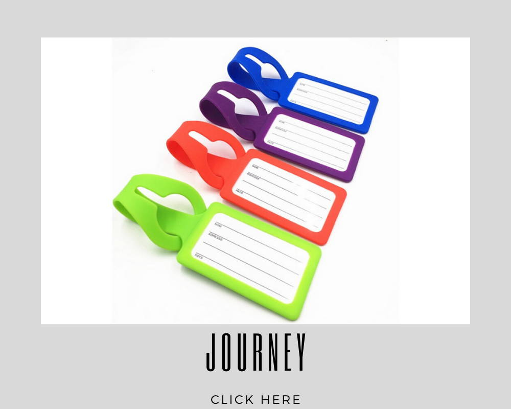 Custom Corporate Journey Luggage Tags