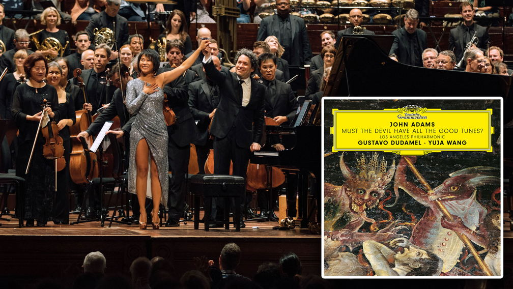 Gustavo Dudamel, the Los Angeles Philharmonic, and pianist Yuja Wang performing live