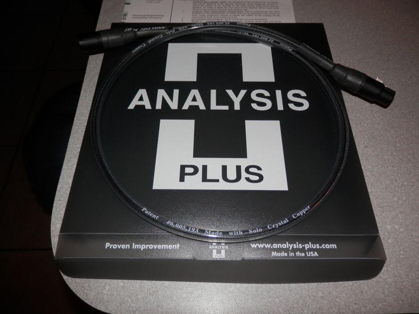 ANALYSIS PLUS Digital Crystal    DIGITAL CABLE W/XLR's